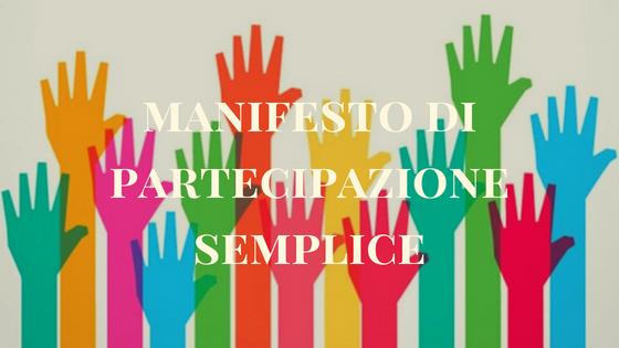Manifesto di Partecipazione Semplice