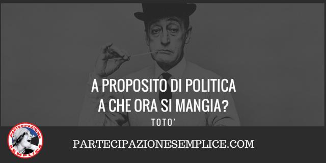 La Situazione Politica Italiana, della Democrazia, Internazionale ed Economica