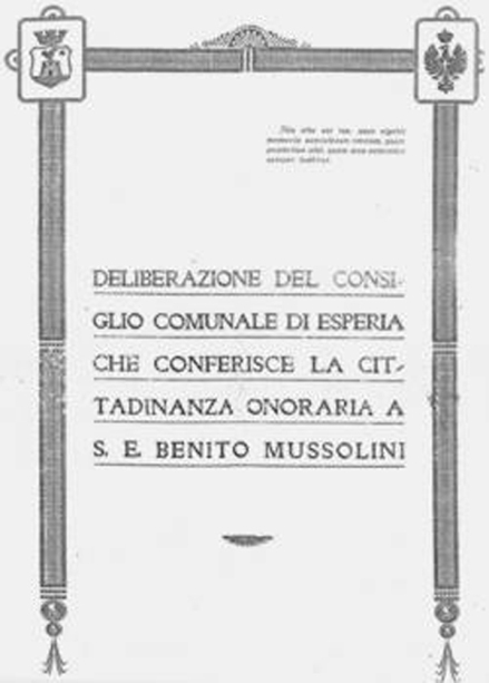 cittadinanza-Mussolini-a-Esperia-FR