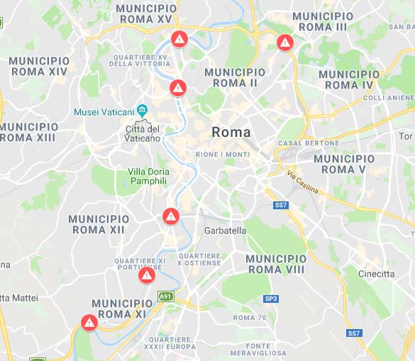 Mappa Ponti e Viadotti a Rischio - Roma.PNG