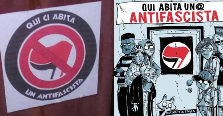 adesivi-sequestrati-qui-abita-un-antifascista-bufala-sinistra-cazzate-e-libertà-6-750x391