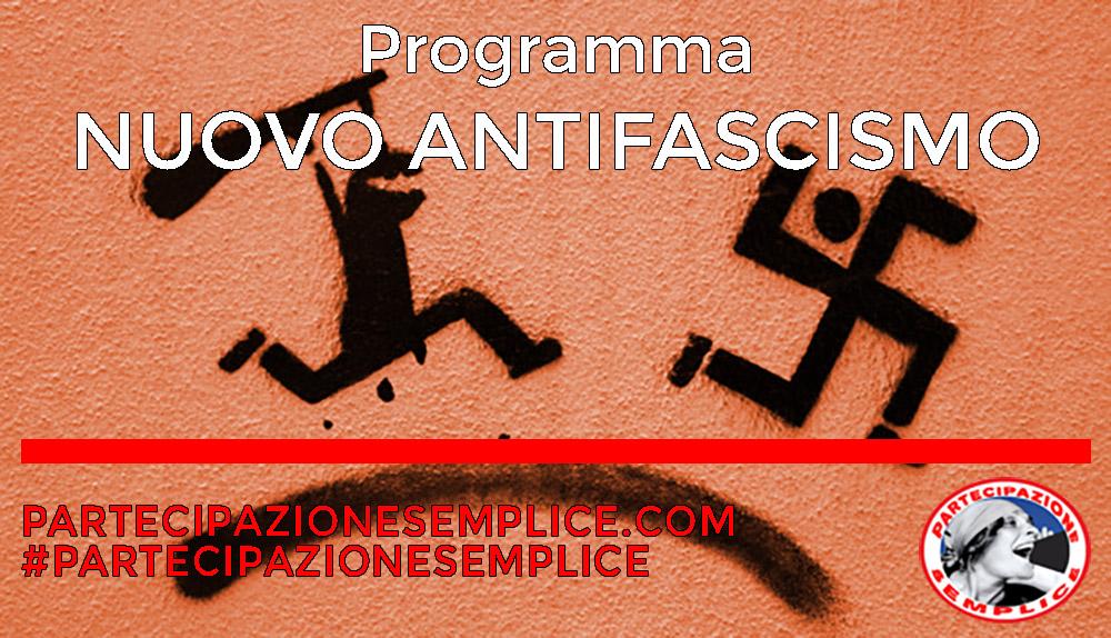 NUOVO ANTIFASCISMO – Il Programma